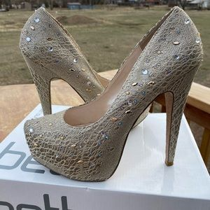 Betts Australia Glamour Platform Heels